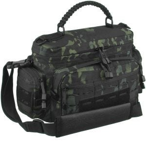 Mil-Tec Tactical Paracord Bag Small Multitarn Black