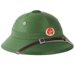 Mil-Tec Vietcong Tropical Helmet with Badge