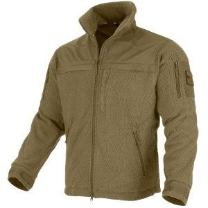 Mil-Tec Elite Fleece Hextac Jacket Dark Coyote