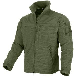 Mil-Tec Elite Fleece Hextac Jacket Olive