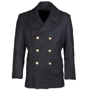 German Marine Colani Pea Coat Navy