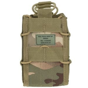 Mil-Tec Open Top Single Mag Pouch Multitarn