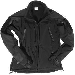 Mil-Tec Soft Shell Jacket Black