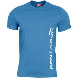 Pentagon Ageron T-Shirt Pentagon Vertical Pacific Blue