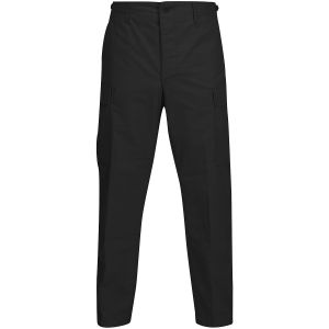Propper BDU Trousers Button Fly Polycotton Ripstop Black