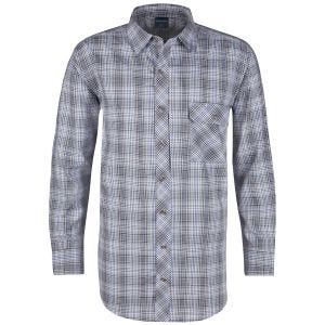 Propper Covert Button-Up Long Sleeve Shirt Ocean Blue Plaid