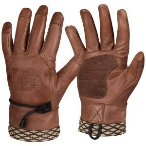 Helikon Woodcrafter Gloves U.S. Brown
