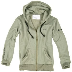 Surplus Stars Hoodie Olive Light