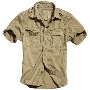 Surplus Raw Vintage Short Sleeve Shirt Beige