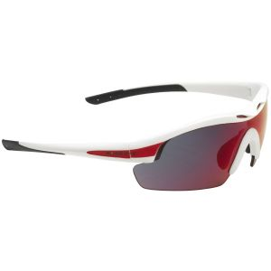Swiss Eye Sunglasses Novena - 3 Lenses / White Matt Red Frame
